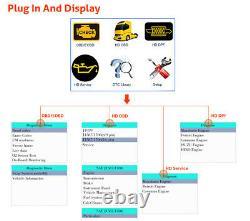 NL102Plus HD Diesel Heavy Duty Truck DPF Regen Oil Reset Diagnostic Scanner tool