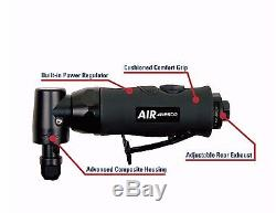 Nesco Air Professional 1/4 Heavy Duty 3/4 HP Composite Angle Die Grinder #709A