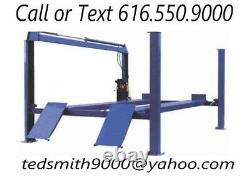 New Best Value Professional 14K 14,000 LBS. Four Post Chain Driven Auto Lift