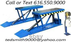 New Best Value Professional 6600 LBS. Heavy Duty Auto Low Clearance Pit Lift