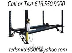 New Best Value Professional 8,000 LBS. 8K HD 4-Post Auto Lift Loaded