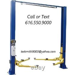New Best Value Professional 9K lbs. 2 Post Auto Lift with FREE Truck Adapters