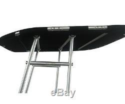 New! Dolphin Pro Boat T Top withBlack canopy Heavy Duty T Top Fishing T Top