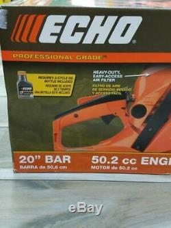 New Echo Cs-490 20 50.2cc Professional Grade Chain Saw Heavy Duty (ms4014916)
