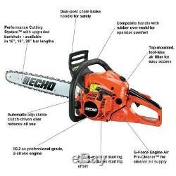 New Echo Cs-490 20 50.2cc Professional Grade Chainsaw Heavy Duty Chain Saw