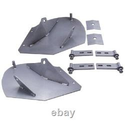 New HEAVY DUTY SNOW PLOW PRO-WING BLADE EXTENSIONS for Fisher Snowplow Blade