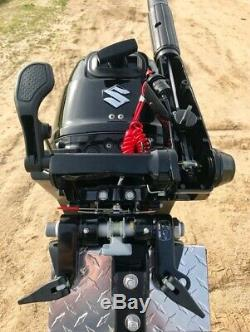New Pro Heavy Duty Outboard Boat Motor Mount, Hitch, Stand, Kicker for 2.5-35HP