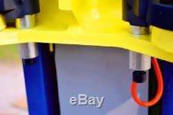 New Pro Lift 10,000LB 2-Post Heavy Duty Auto Lift Car Hoist FREE Truck Adapters