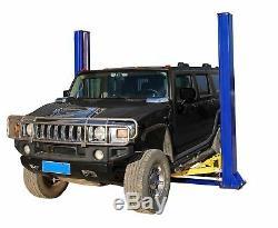New Pro Lift 10,000 LB 2-Post Heavy Duty Auto Lift Car Hoist FREE Truck Adapters
