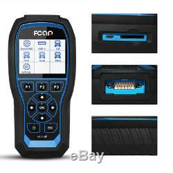 OBD2 Scanner Fcar F506 Pro HD Diesel Truck Pickup Bus Heavy Duty Diagnostic Tool