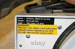ORTHOFEX Ortho-Spray Professional Heavy Duty High Power Podiatry Drill Cool Mist