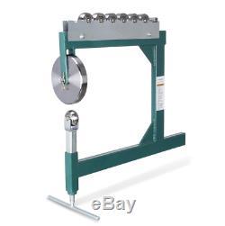 Original ARKSEN Professional Heavy Duty English Wheel Quick Metal Shaping Sheet
