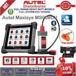 Original Autel Maxisys MS908CV HD Heavy Duty Diesel Truck Moduel Diagnostic Tool