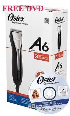 Oster Golden A6 Heavy Duty Slim 3 Speed 220v Professional Clipper A5 Blade 78006