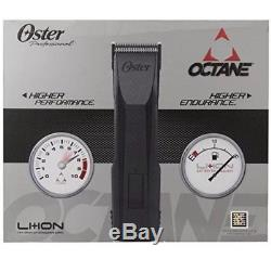 Oster Octane Li-Ion Heavy Duty Professional Cordless Hair Clipper 76550-100 Cut