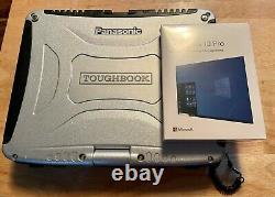 Panasonic CF-19 MK5 Toughbook 8GB Ram, 256GB SSD withNIB Win 10 pro USB Retail