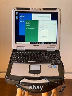 Panasonic Toughbook Laptop Core i5 16 GB RAM 1TB SSD Windows 10 Pro with Office
