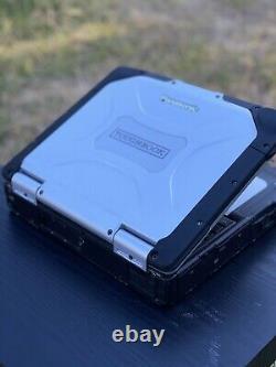 Panasonic Toughbook Rugged Heavy Duty Laptop Office Windows XP SP3 320 GB HDD