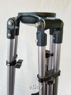 Peter Lisand Professional Video Camcorder Tripod Legs Heavy Duty Aluminum V07