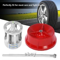 Pro Car Truck Portable Hubs Wheel Tire with Balancer Bubble Level Heavy Duty Rim
