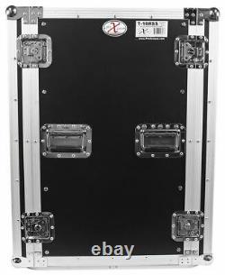 Pro X TOV T-18RSS 18U Space Vertical DJ Amp Rack Flight Case 3/8 ATA300 withWheels