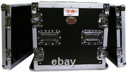 Pro X T-10RSS 10U Space ATA Equipment Rack Case with4 Wheels/Casters