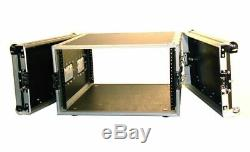 Pro X T-6RSS 6U Space DJ 19 Flight Rack Case With 3/8 Plywood For Durability