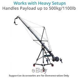 Proaim Anchor Heavy-duty Professional Cinema Camera Dolly load of 500kg/1100lb