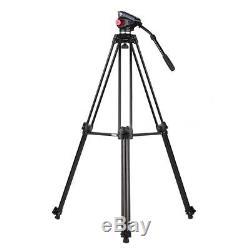 Professional 67inch Aluminum Heavy-Duty DV Ball Head Video Camera Tripod Stand