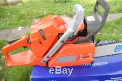 Professional Chainsaw HUS365 with 18 bar saw 65CC gasoline Heavy Duty Petrol