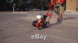 Professional Concrete / Asphalt Crack Cleaner Router Heavy-duty with 8 Wire Wheel