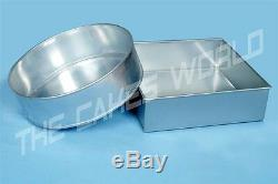 Professional Heavy Duty Round 10and Square 10 Wedding Cake Tins / Pans