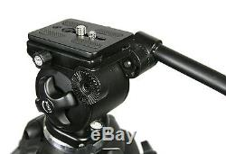 Professional Heavy Duty Video Camcorder Tripod Fluid Drag Head Kits by Fancie