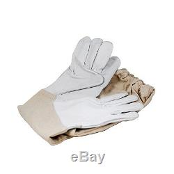 Professional Heavy duty Bee Suit, Beekeeping Supply Suit (with Gloves) Medium