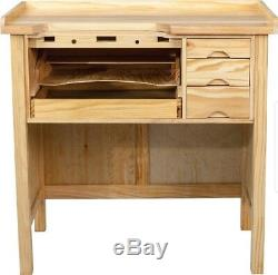 Professional Jeweler's Solid Wood Heavy Duty Work Bench Brand New