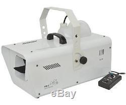 QTX 160.565 High Output 1200W Professional Stage Snow Machine Heavy Duty New