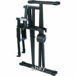 Quik Lok QL-723 Pro Series Triple Tier Heavy Duty Keyboard X Stand