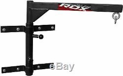 RDX Heavy Duty Gym Pro Punch Bag Folding Steel Wall Bracket Hanging Boxing Stand