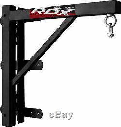 RDX Wall Bracket 2ft Pro Heavy Duty Punching Bag Folding Steel Hanging Boxing US