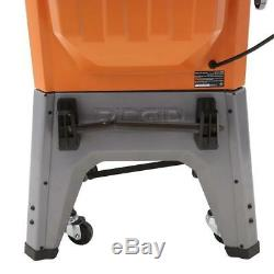 RIDGID Table Saw 13 Amp 10 In Professional Cast Iron Heavy Duty Stand Powerful