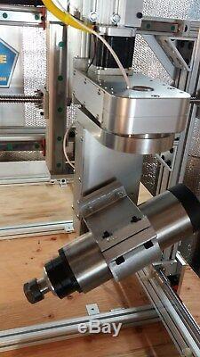 ROBO-SHOP PRO +5 Axis 2-DOF ++ HEAVY DUTY COMBO++FAST CNC ROUTER CNC MACHINE KIT