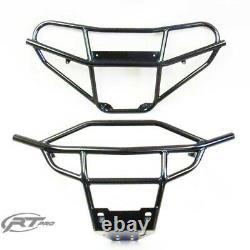 RT Pro Black Front & Rear Bumper Bundle For Polaris RZR 170