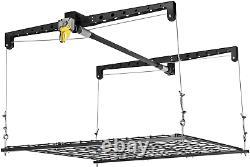 Racor PHL-1R Pro Heavy Duty Cable Lift Garage Ceiling Storage Rack Platform NEW