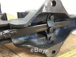 Rare Quick Release Large Bench Record Vice No 110 Professional Vise Heavy Duty