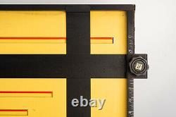 Saunders 20X24 Inch Master 4 Blade Heavy Duty Pro Lab Darkroom Easel RARE V16