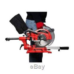 Sliding Compound Miter Saw Dual Bevel 15 Amp 10 Professional Heavy Duty Cuts