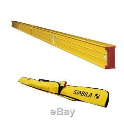 Stabila 37496 96 Heavy Duty Type 196 Professional Builders Level with 96 Case