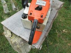 Stihl Chainsaw 056 Starts easy and runs great 20 heavy duty bar/chain true pro