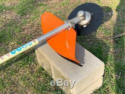 Stihl FS85 PRO Commercial Trimmer BRUSH CUTTER / VERY NICE HEAVY DUTY Ships Fast