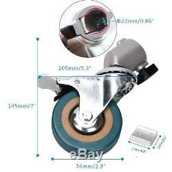 Studio Light Stand Boom Arm Steel Heavy Duty Professional Photography Wheeled UK